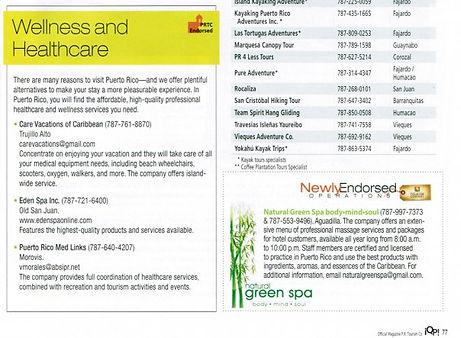 Turismo Endosa los servicios de The Green Spa