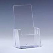 "4.0""x 9.0"" Counter Top Brochure Holder - Clear"