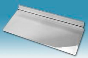 "10"" W x 4"" D Shelf - Clear - Pack of 20"