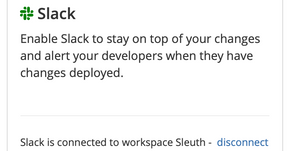 Keep your team informed with the Sleuth Slack integration