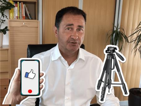 Comment Philippe, consultant et formateur, produit ses propres vidéos avec son smartphone.