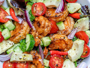 Spicy Key Lime Shrimp Salad