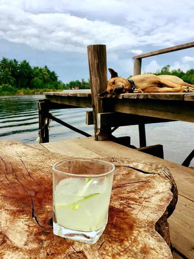 Meraki Kampot, best accommodation on the river, kep beach