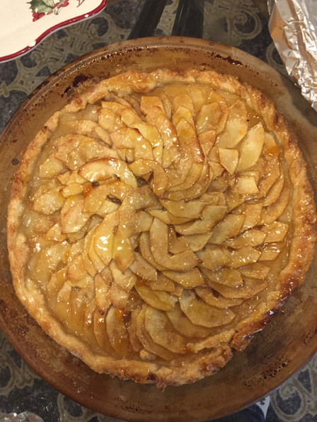 Jacques Pepin apple galette