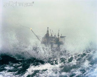 Sepco 704 Oil Rig North Sea