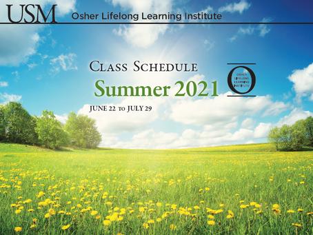OLLI Summer Registration Opens Tomorrow!