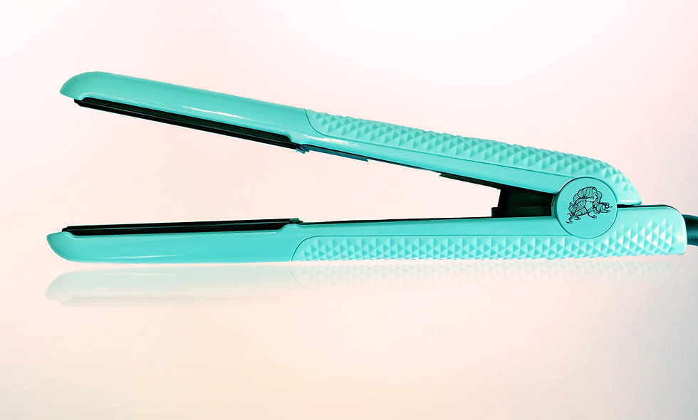 Limitless 1 inch Metallic Turquoise Styler
