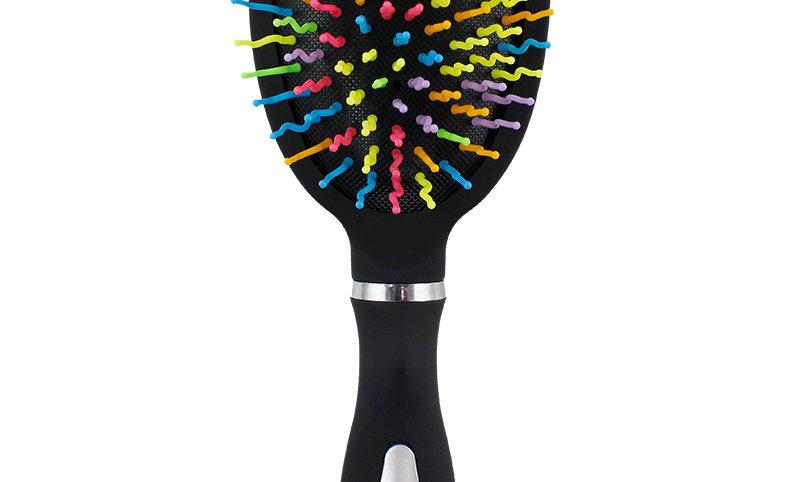 Rainbow Detangler Paddle Brush