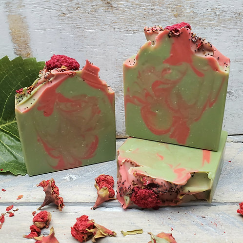 Greenhouse Organic Artisan Soap - Handcrafted - Phthalate Free - Hemp Oil - Vega