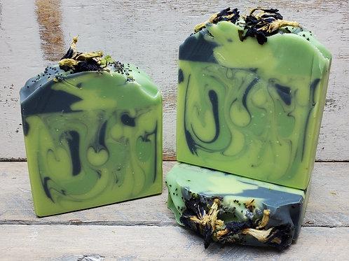 Calming Spa Organic Artisan Soap - Essential Oils - Hemp Oil - Vegan