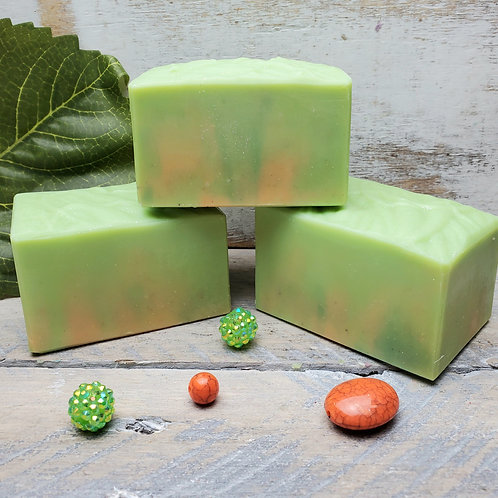 Freshen Up! Food Scrubbies Organic Artisan Soap - Handcrafted - Exfoliating - Es