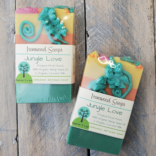 Jungle Love Tropical Fruit Punch Organic Artisan Soap