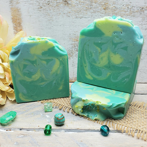 Serenity Organic Artisan Soap - Handcrafted - Calming Floral