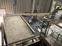 Depalletiser Accumulation conveyor Singl
