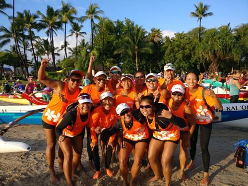 Queen Liliuokalani OC race in Hawaii