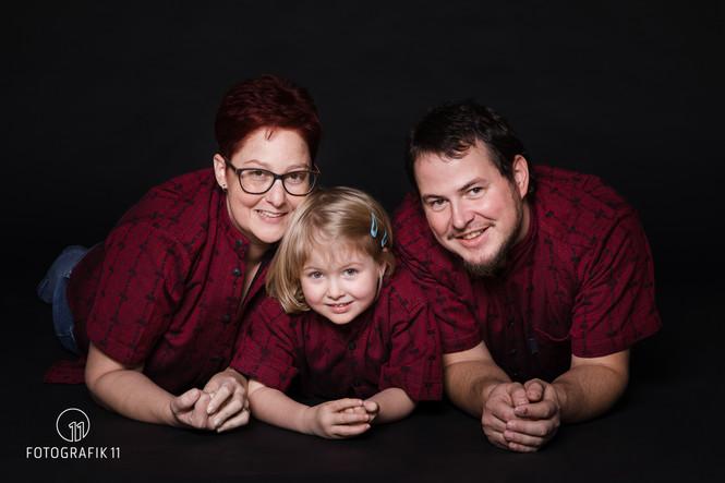 Familienaufnahme, Fotostudio Solothurn