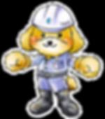 株式会社テイクのマスコットキャラクター「テイくん」