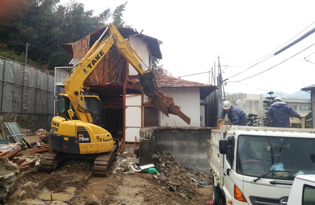 早良区木造住宅解体工事