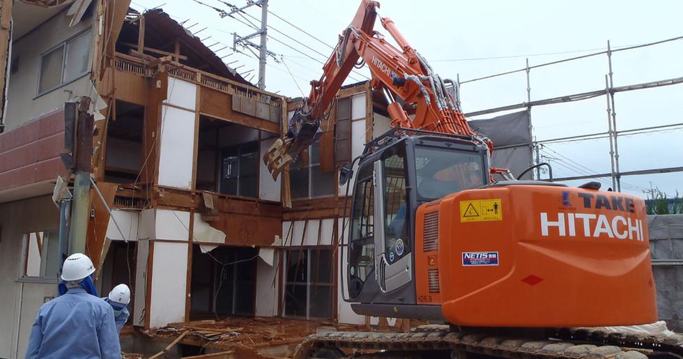 木造アパート解体工事