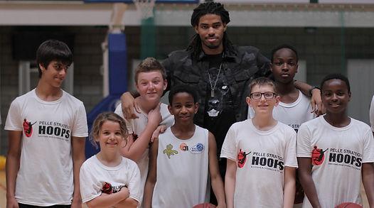 kids activité de basketball