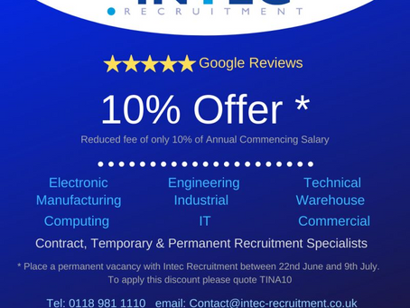 10% Offer - 2 Days Remaining