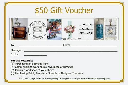 Gift Voucher -$50