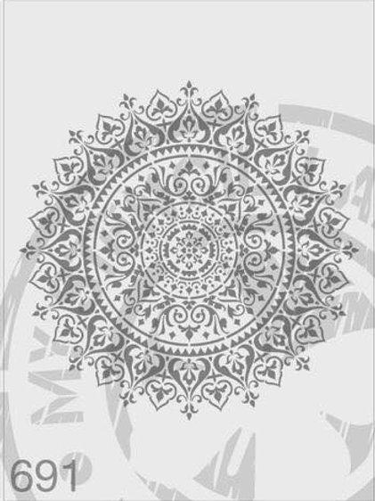 691: Sun Mandala