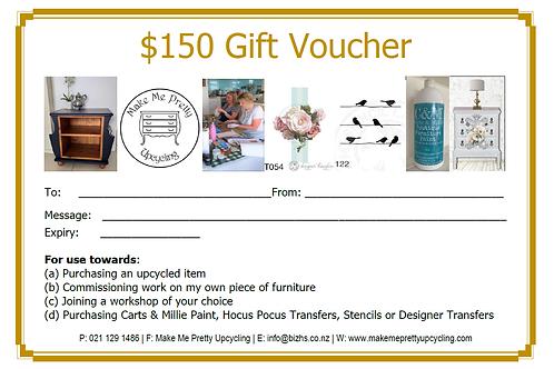 Gift Voucher -$150