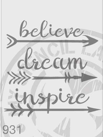 285: Believe-Dream-Inspire