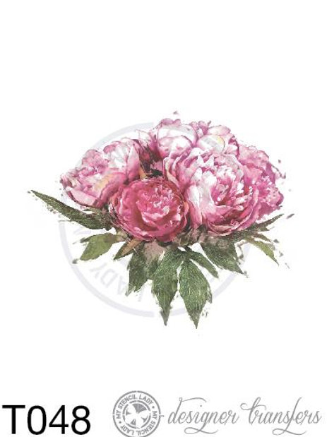 T048: A4 Peony Roses