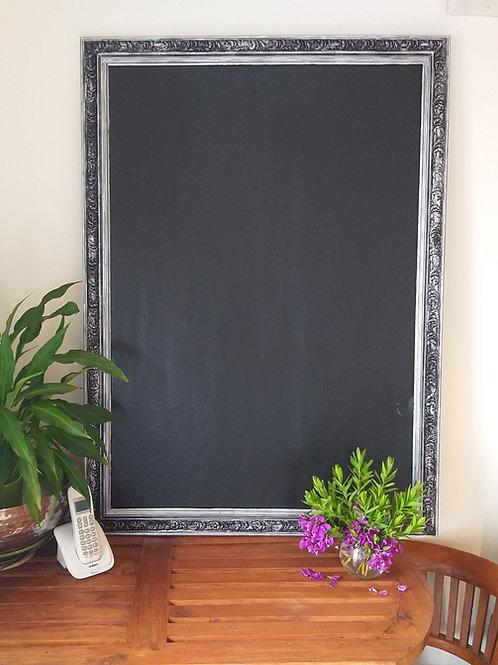 Large ornate black board