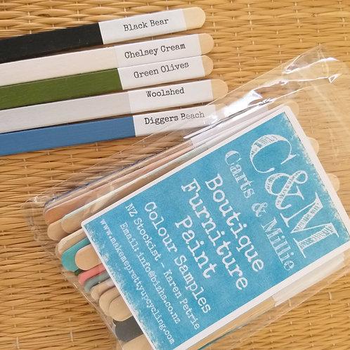 24 sample sticks
