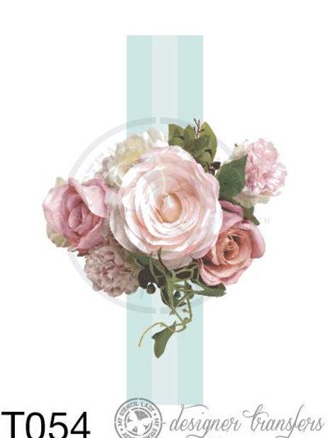 T054: A3 : Blue Stripe Dusky Roses