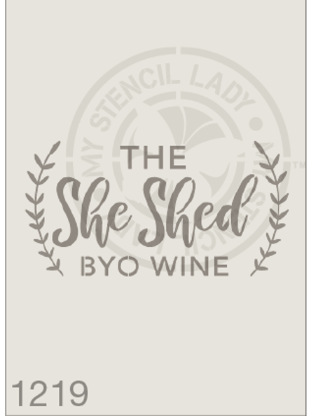1219: The She Shed