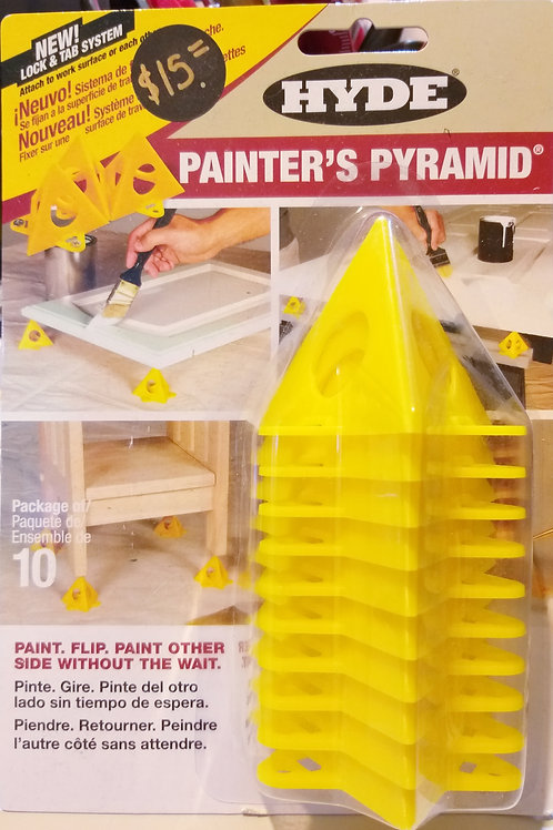 Painters Pyramids - set of 10