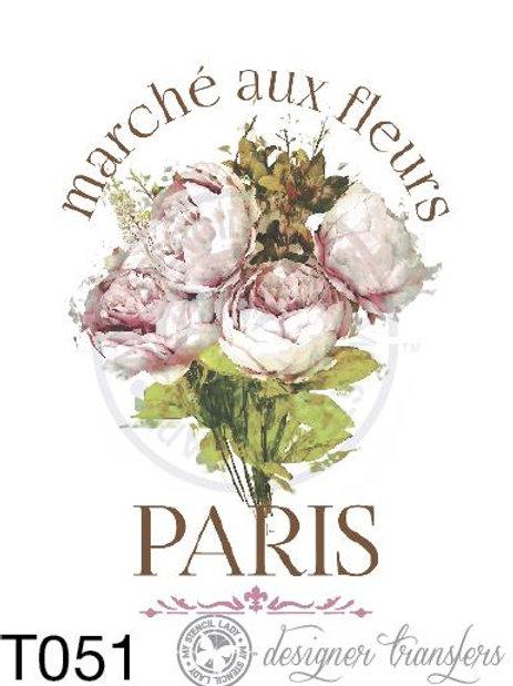 T051: A3 : Paris Flower Market