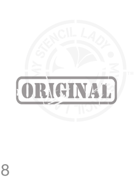 008:  Original stamp