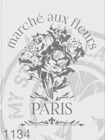 1134: Paris Flower Market