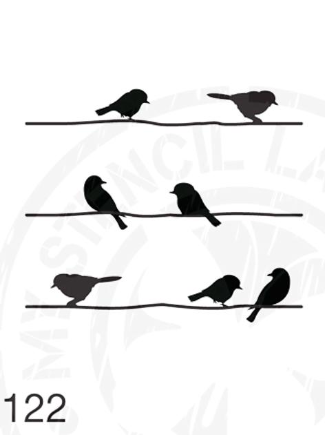 122: Bird on a wire