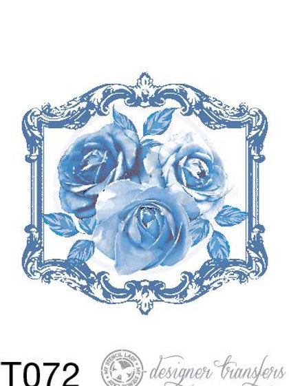 T072: A3 : Blue Roses