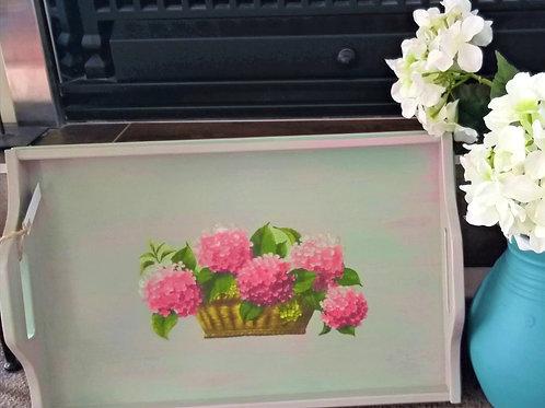 Hydrangea Tray