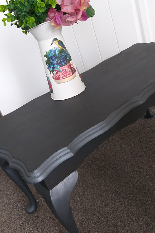 Black & Pewter coffee table