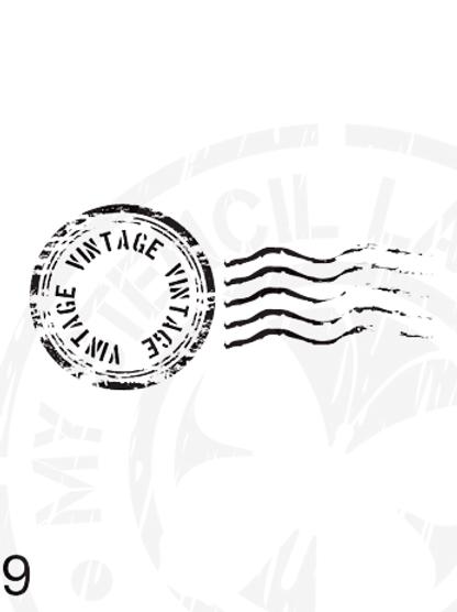 009: Vintage Post Mark