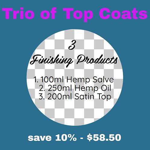 Trio of Top Coats