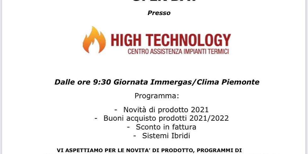 EVENTO CAT HIGH TECNOLOGY - CLIMA PIEMONTE