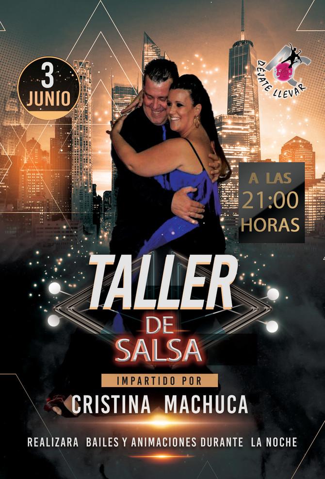 Taller de Baile para el Sábado 3 de Junio