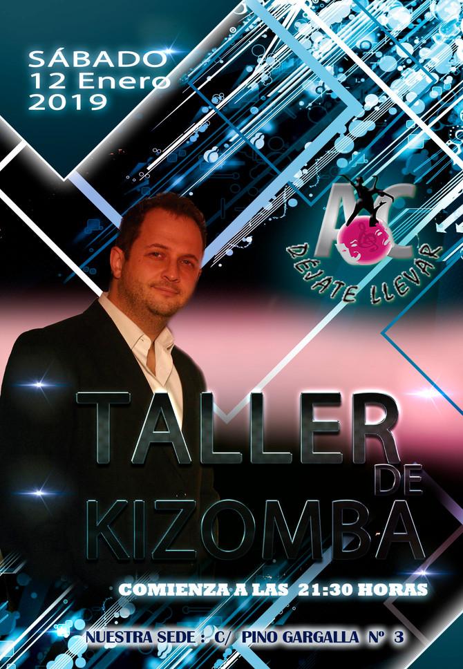 Taller de Kizomba para 12 de Enero