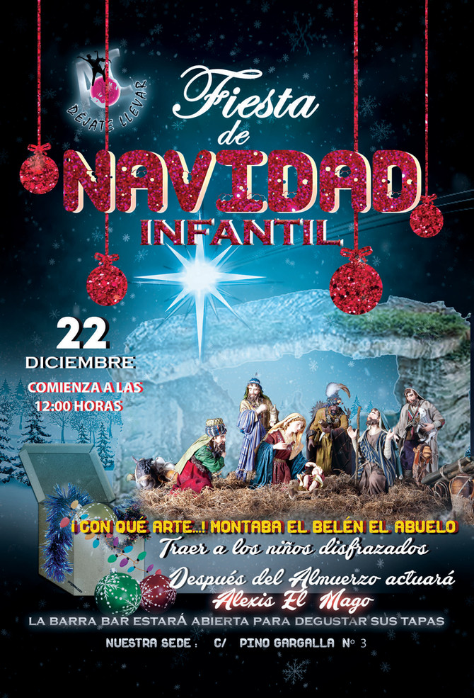 Fiesta Infantil de Navidad 2019