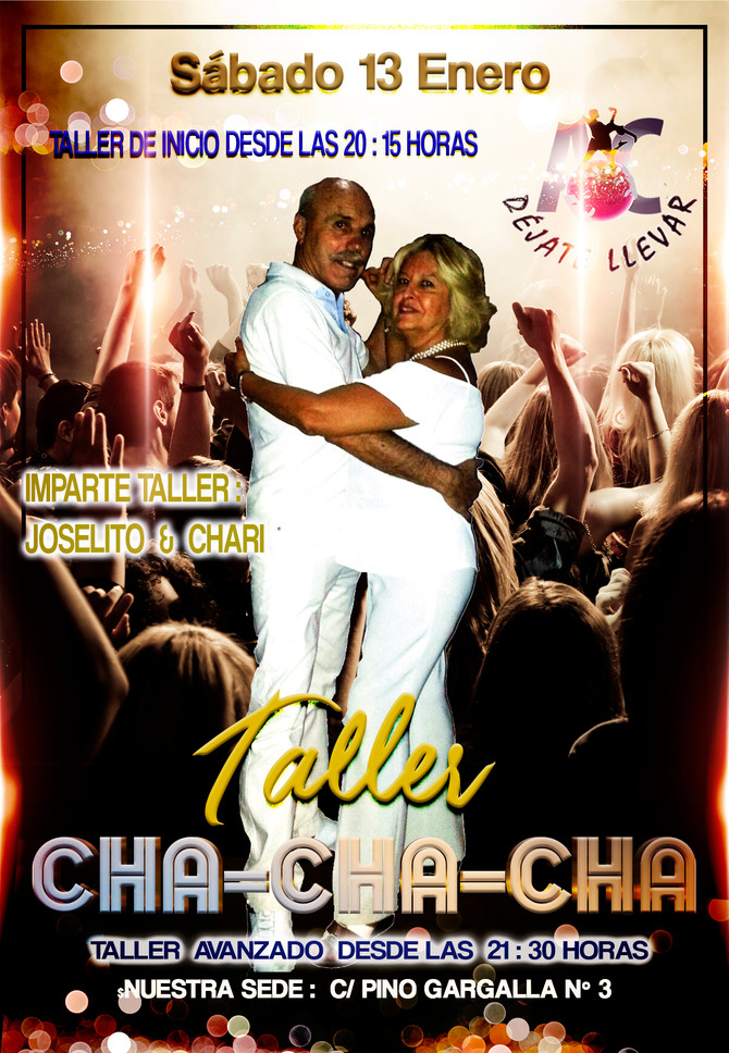 Taller de Baile para Sábado 13 Enero
