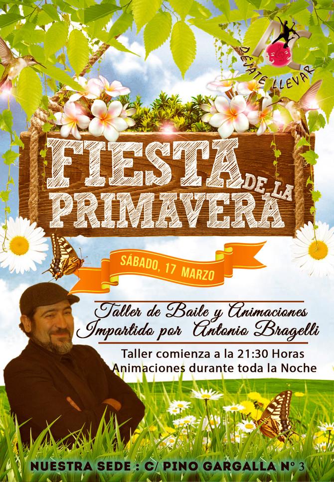 Fiesta de la Primavera y Taller para el Sábado 17 de Marzo.
